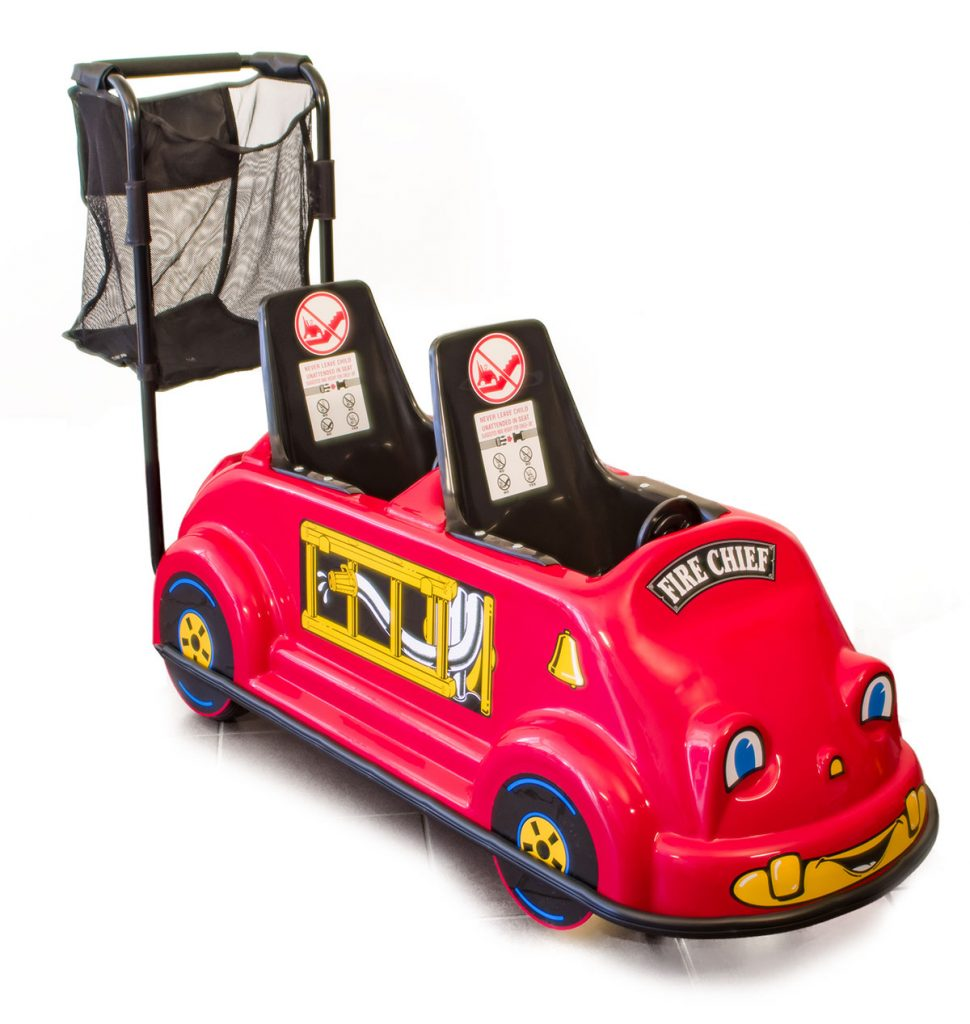Double Fire Truck - Smarte Carte Commercial Strollers