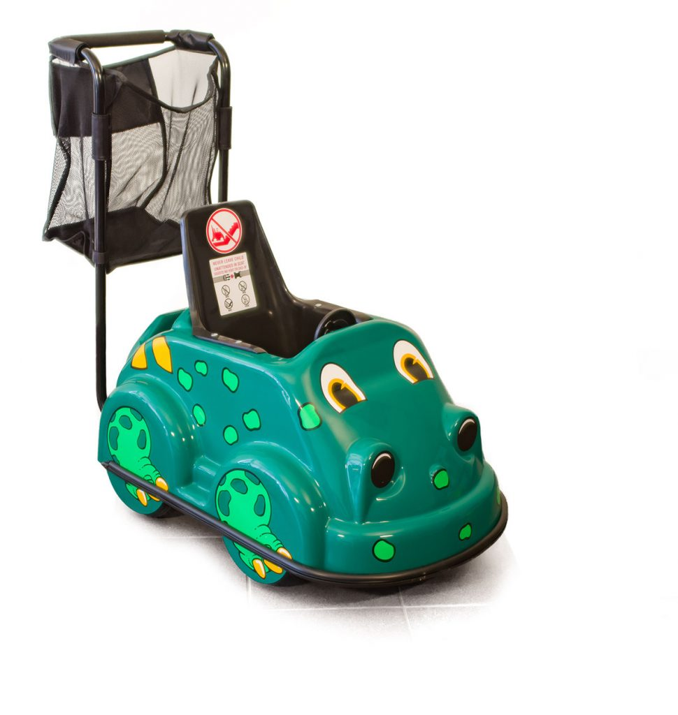 Single Stroll-A-Saurus - Smarte Carte Commercial Strollers
