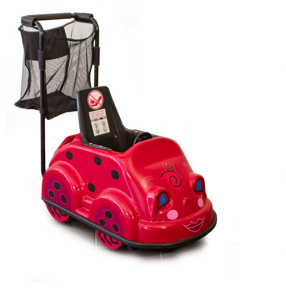 Single Ladybug - Smarte Carte Commercial Strollers
