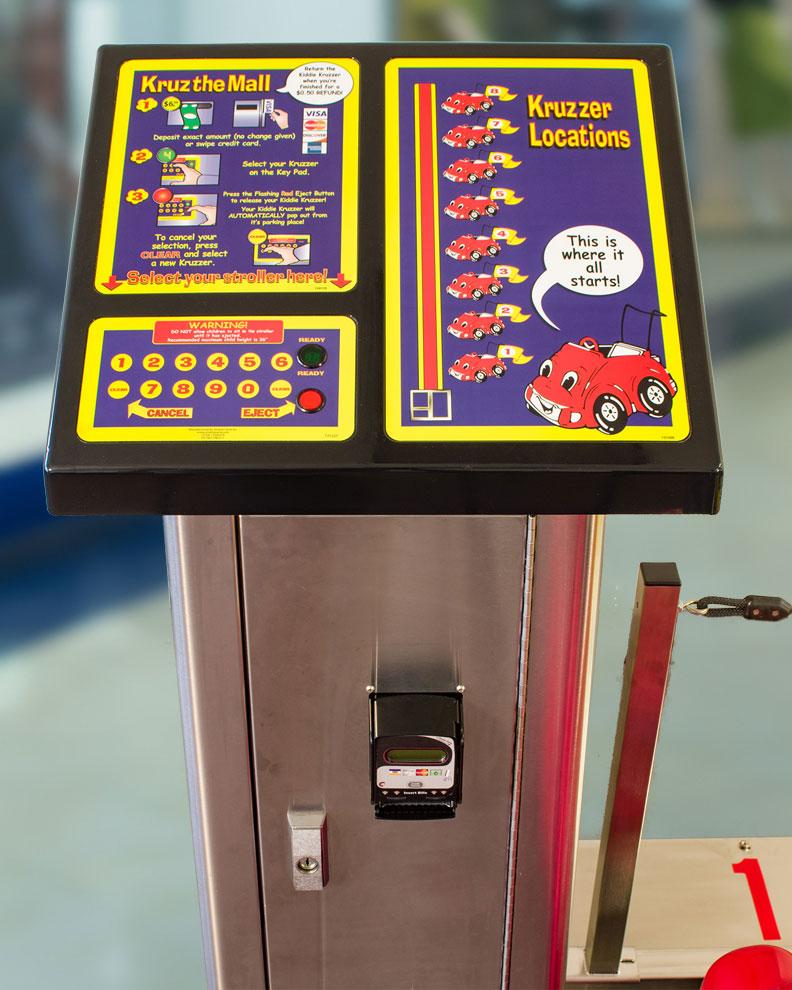Vending Tower - Smarte Carte Commercial Strollers